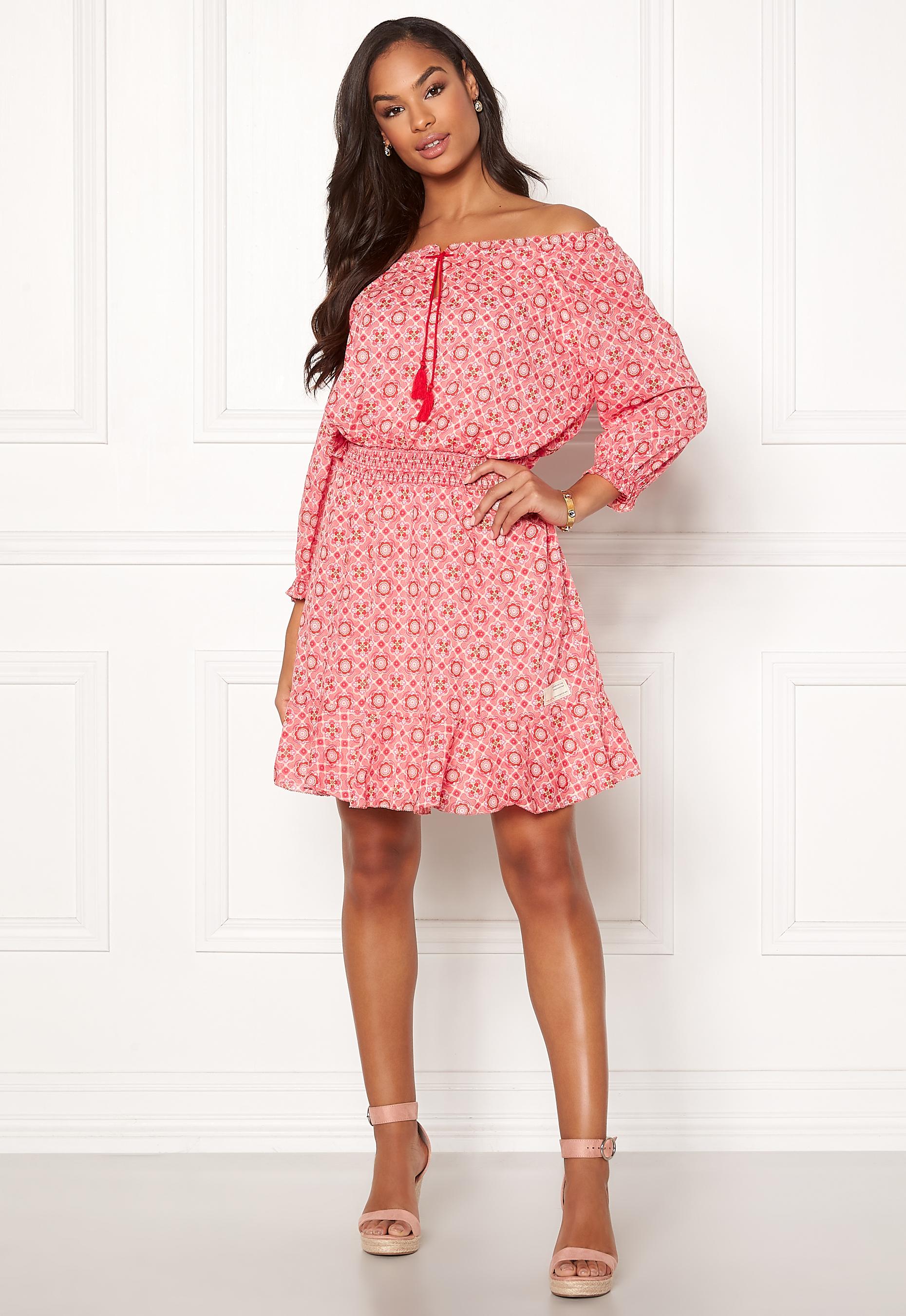 ec02ca562c27 Odd Molly Stayin Free Dress Blush Pink - Bubbleroom