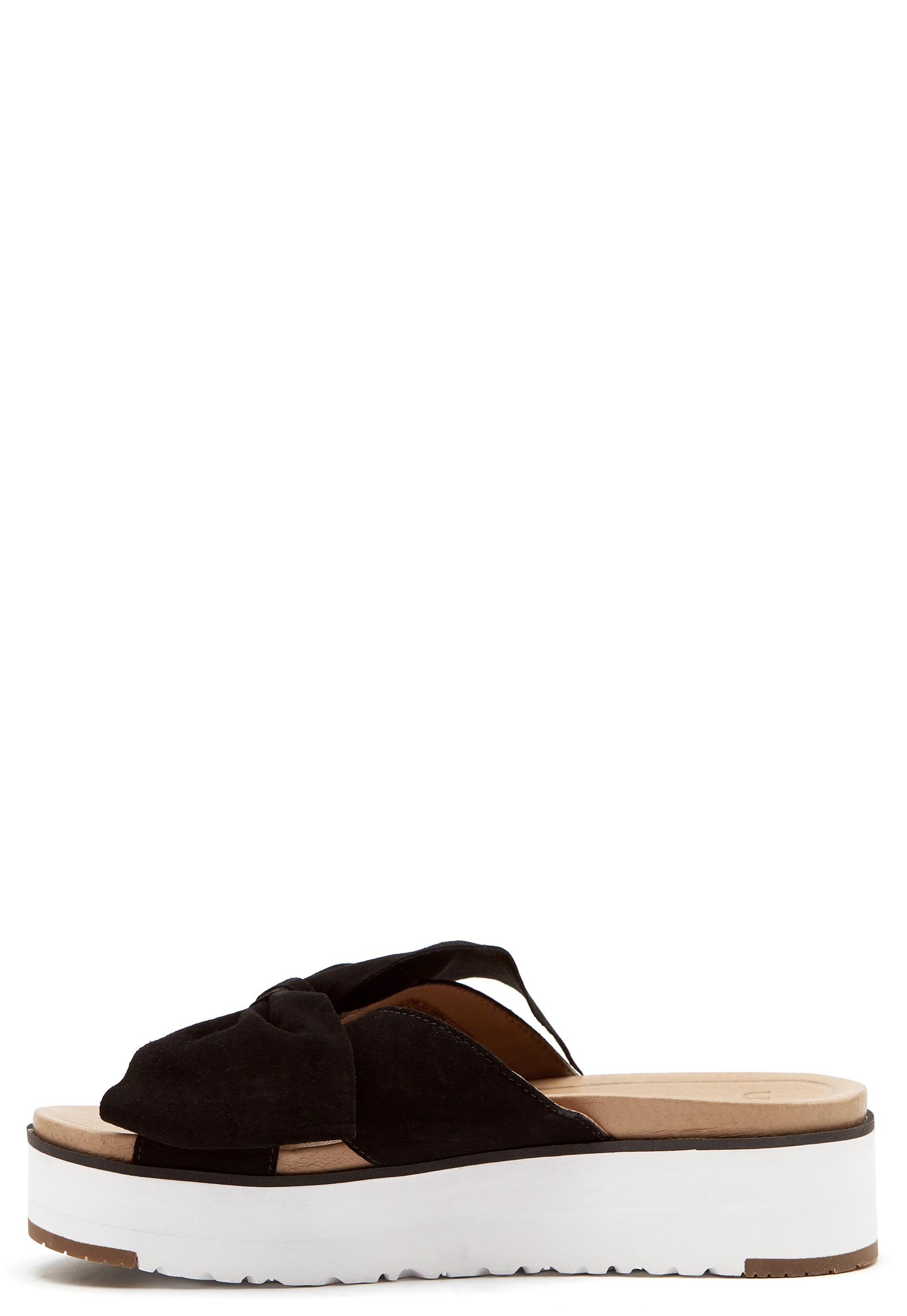 UGG Australia Joan II Sandals Black Bubbleroom