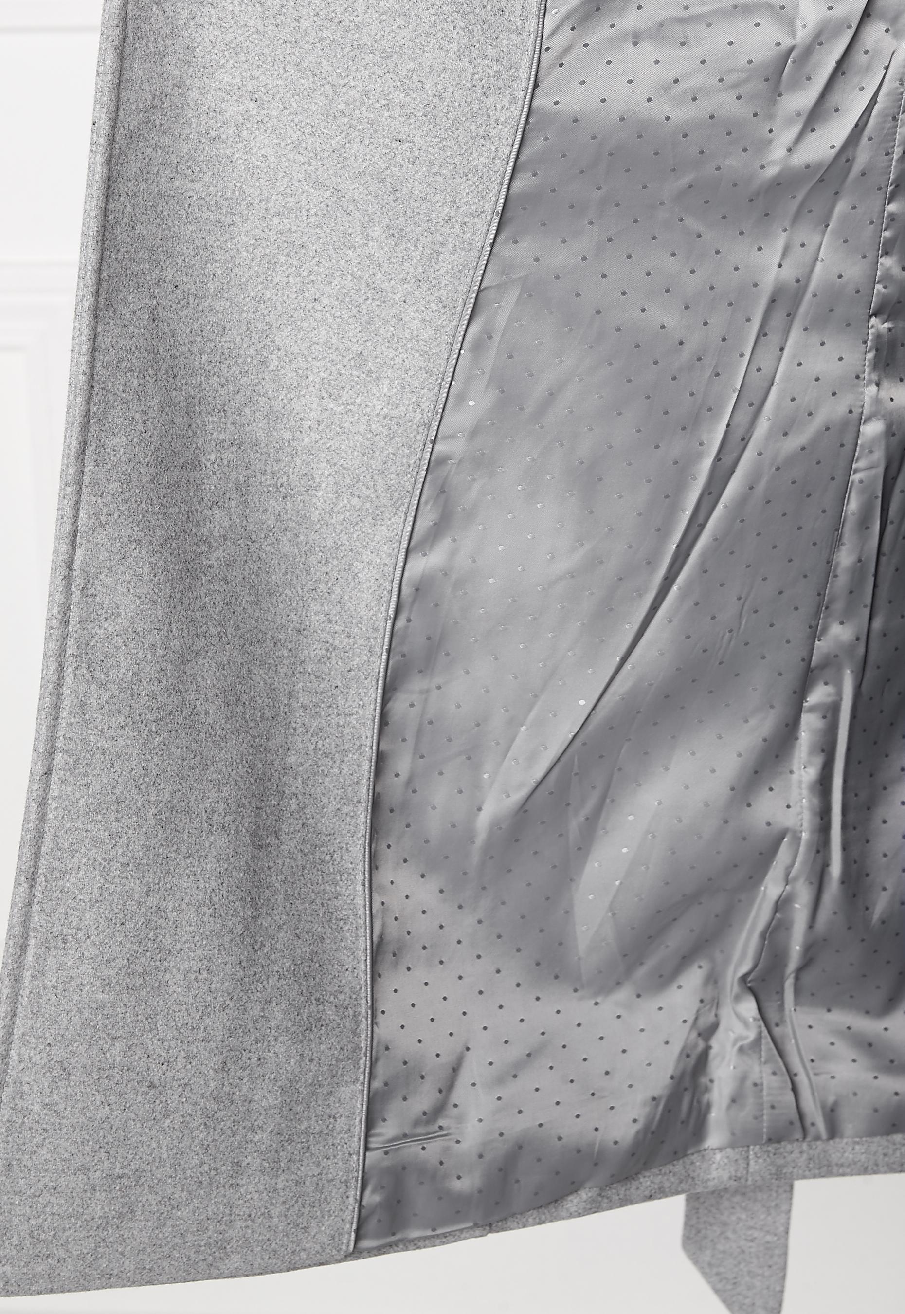 VILA Director Jacket Light Grey Melange - Bubbleroom 7cb60f94ec