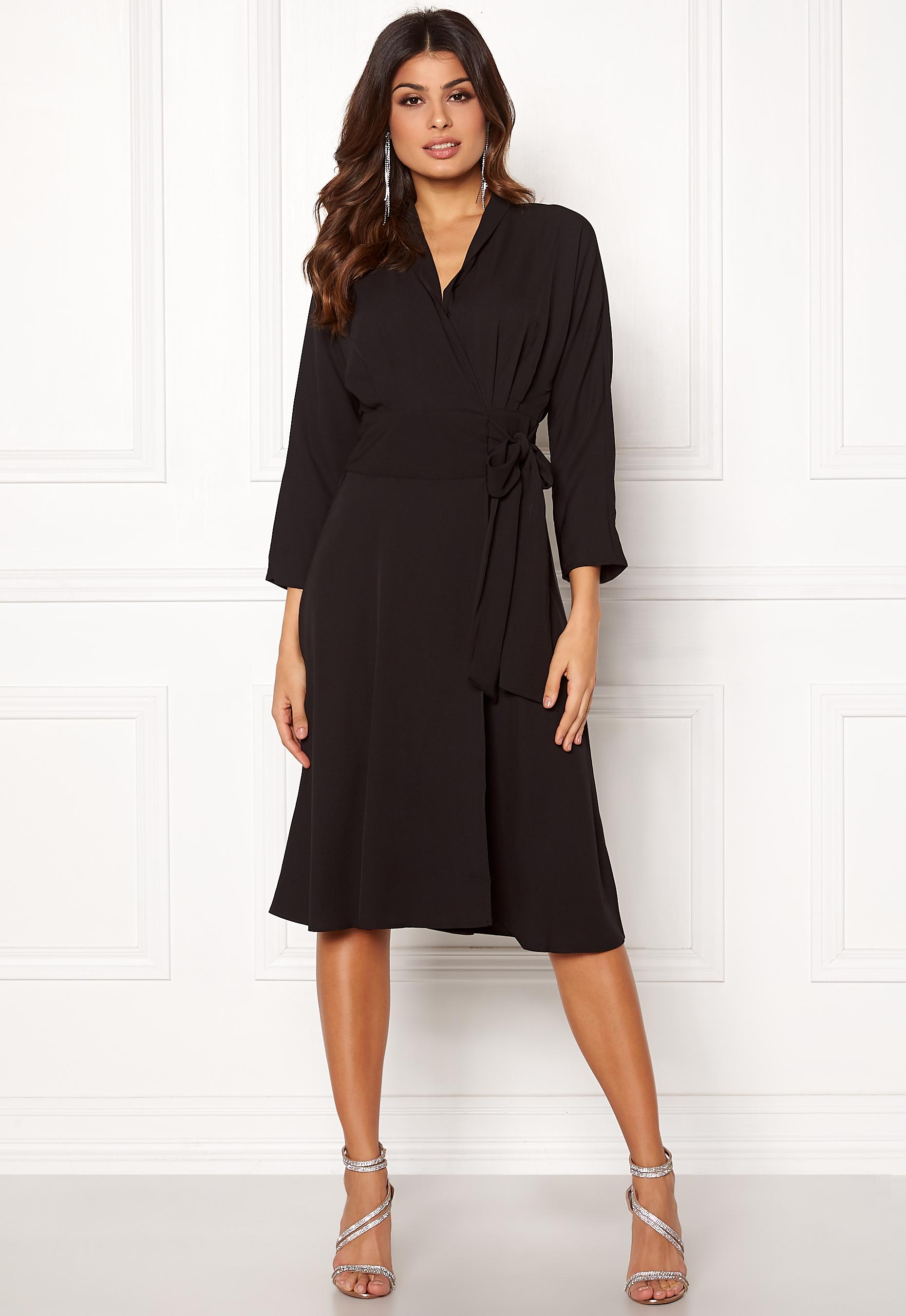 Y Black Unika Dress Ls a s Bubbleroom nwk0OP8X